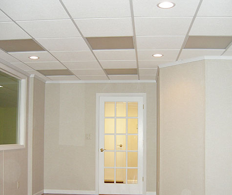 finished basement ceiling in ohio basement drop ceiling installation