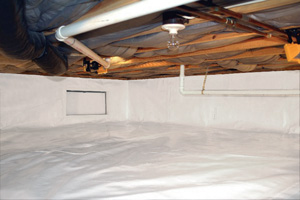 Crawl Space Repair After in Massillon
